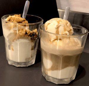 Saigon kava ice cream ledai