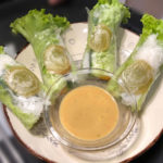Saigon Kava vegan fresh rolls
