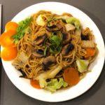Saigon Kava vegan fried noodle