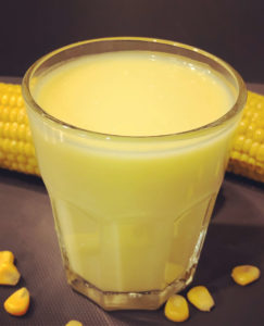 Saigon Kava home made corn milk