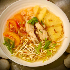 Saigon Kava pineapple fish soup